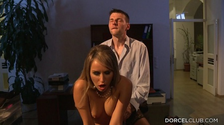 My obedient secretary Aleska Diamond