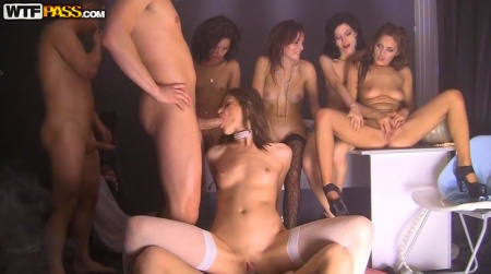 Russian Students Party Orgy