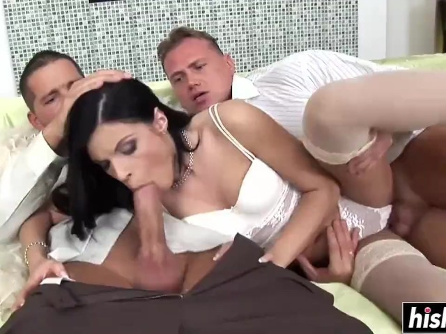 Happens... can free hot wife gangbang