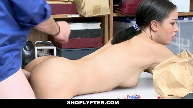 House wife fucks with security guard